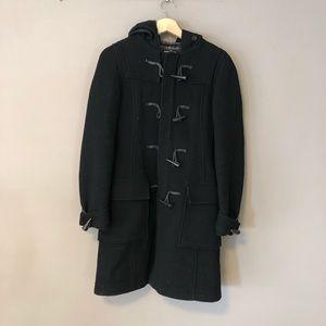 TNA Jacket Coat XS black tassel Clip hook